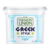 Farmers Union Greek Style Yoghurt - Light
