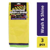 Mr Clean Microfibre Cloths - Wash & Shine