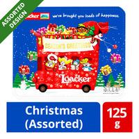 Loacker Quadratini Crispy Wafers Gift Tin - Christmas (Assorted)