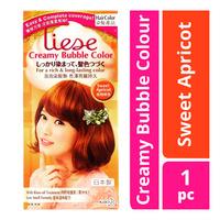 Liese Blaune Creamy Bubble Color - Sweet Apricot