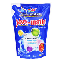 Yuri-matic Laundry Liquid Detergent Refill - Romantic Blue