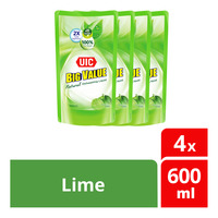 UIC Big Value Dishwashing Liquid Refill - Lime