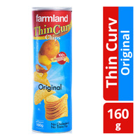 Farmland Thin Curv Potato Chips - Original