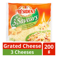 President Grated Cheese - 3 Cheeses