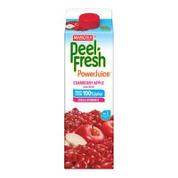 Marigold Peel Fresh Carton Juice - Cranberry Apple (No Sugar)