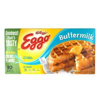 Kellogg's Eggo Frozen Waffles- Buttermilk