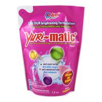 Yuri-matic Laundry Liquid Detergent Refill - Floral