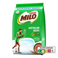 Milo Instant Chocolate Malt Drink Powder Refill - Australian