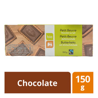 Delhaize Bio Organic Butter Biscuits - Chocolate