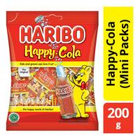 Haribo Gummy Candies - Happy Cola (Mini Packs)