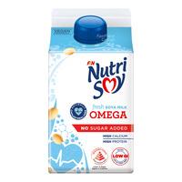 F&N NutriSoy High Calcium Fresh Soya Milk - Omega(NoSugarAdded)