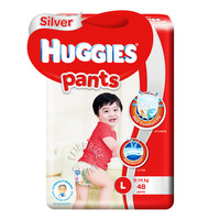 Huggies Silver Pants - L (9 - 14kg)