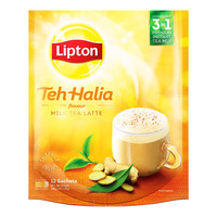 Lipton 3 in 1 Instant Milk Tea Latte - Teh Halia