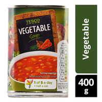 Tesco Soup - Vegetable