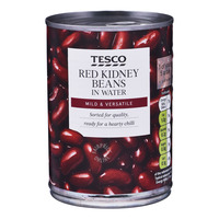 Tesco Beans in Water - Red Kidney