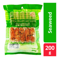Tay's Japanese Extra Lean Chicken Mini Sausage - Seaweed