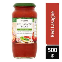 Tesco Pasta Sauce - Red Lasagne