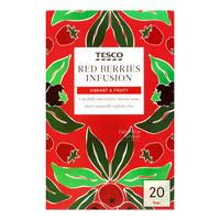 Tesco Tea Bags - Red Berries