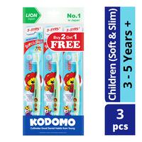 Kodomo Kids Toothbrush - Soft & Slim (3 - 5 years)