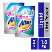 Attack Liquid Detergent Refill - Ultra Power