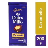 Cadbury Dairy Milk Chocolate Block - Caramello