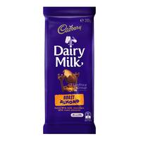 Cadbury Dairy Milk Chocolate Block - Roast Almond