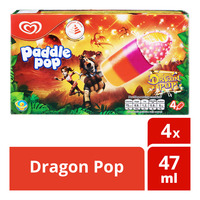 Wall's Paddle Pop Ice Cream - Dragon Pop
