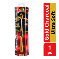 Colgate 360 Gold Charcoal Toothbrush - Ultra Soft