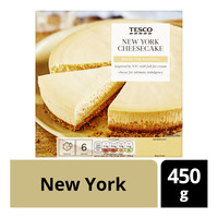 Tesco Frozen Cheesecake - New York