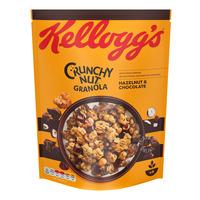 Kellogg's Crunchy Nut Oat Granola - Hazelnuts & Chocolate