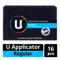Kotex U Applicator Tampons - Regular
