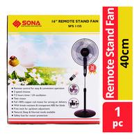 Sona Remote Stand Fan - 40cm