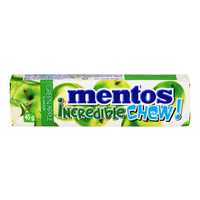 Mentos Incredible Chew! Chewy Dragees - Green Apple