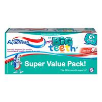Aquafresh Toothpaste - Big Teeth (6+ Years)