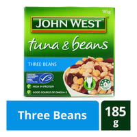 John West Tuna & Beans - Three Beans