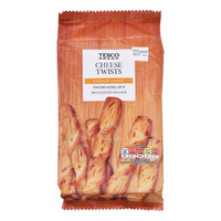 Tesco Twist Pastry Snack - Cheese