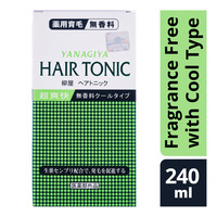 Yanagiya Hair Tonic - Fragrance Free with Cool Type