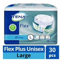 TENA Flex Plus Unisex Adult Diapers - L