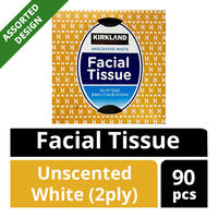 Kirkland Signature Facial Tissue - Unscented White (2ply)