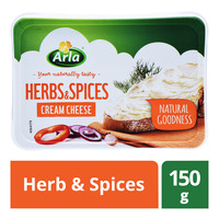 Arla Cream Cheese - Herb & Spices