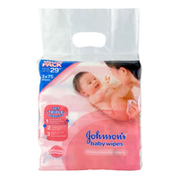 Johnson's Baby Wipes - Moisturizes & Protects