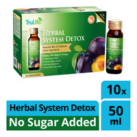 TruLife Herbal System Detox Drink - No Sugar Added