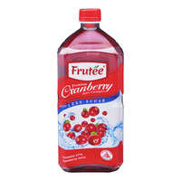 Frutee Premium Cranberry Juice Bottle Cocktail