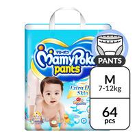 MamyPoko Extra Dry Skin Boy Pants - M (7 - 12kg)