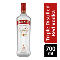Smirnoff Triple Distilled Red Vodka