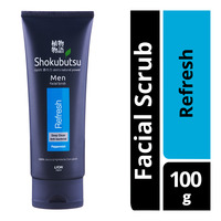 Shokubutsu Men Facial Scrub - Refresh