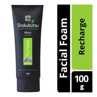 Shokubutsu Men Facial Foam - Recharge
