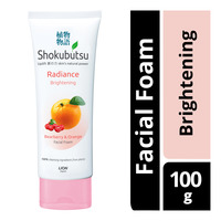 Shokubutsu Radiance Facial Foam - Brightening