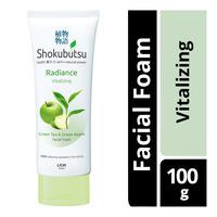 Shokubutsu Radiance Facial Foam - Vitalizing