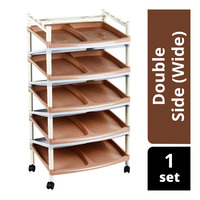Imported 9 Layes Shoe Rack - Double Side (Wide)